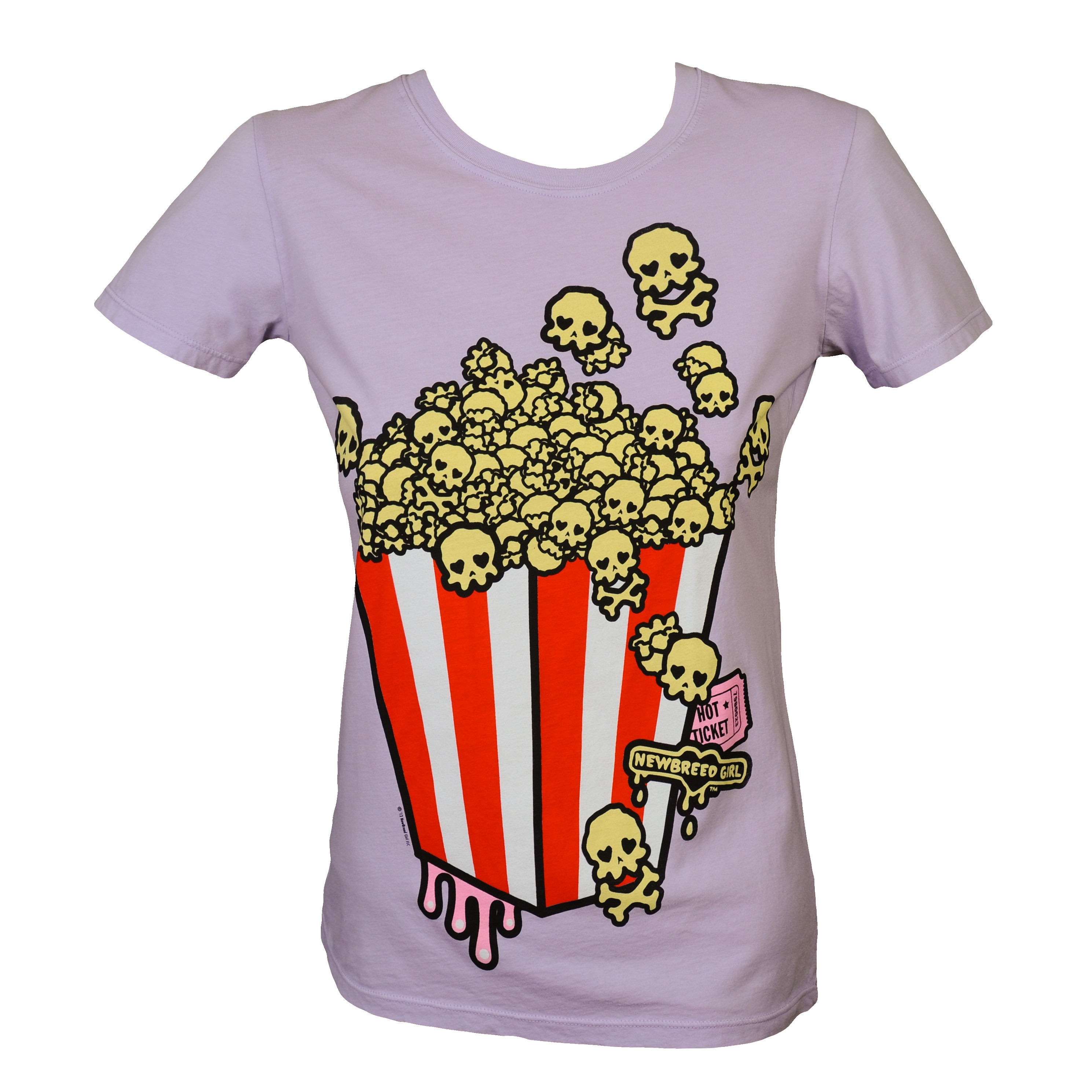 Newbreed Girl Skullycorn Tee- SUPER FUN DESIGN!